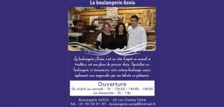 AZOÏA – Boulangerie pâtisserie