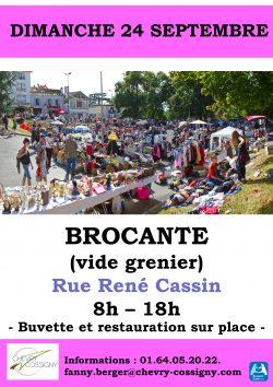 BROCANTE 18 juillet
