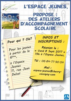 Accompagnement scolaire