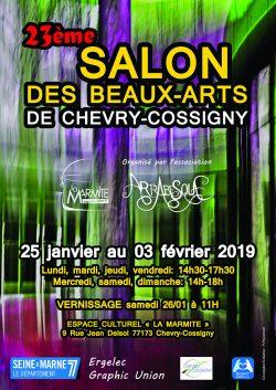 Affiche_Salon_bx_arts_2019_verte