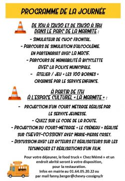 FLYER 17 mars prevention routiere