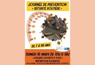 JOURNÉE DE PRÉVENTION SÉCURITÉ ROUTIÈRE