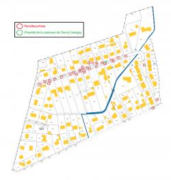SECTEUR 5 - plan retouché (avec retrait parcelles rue CHarles Pathé)