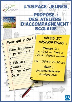 Accompagnement scolaire REUNION 13 SEP 19
