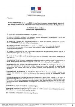 arrêté prefet interdiction acces aux berges 1