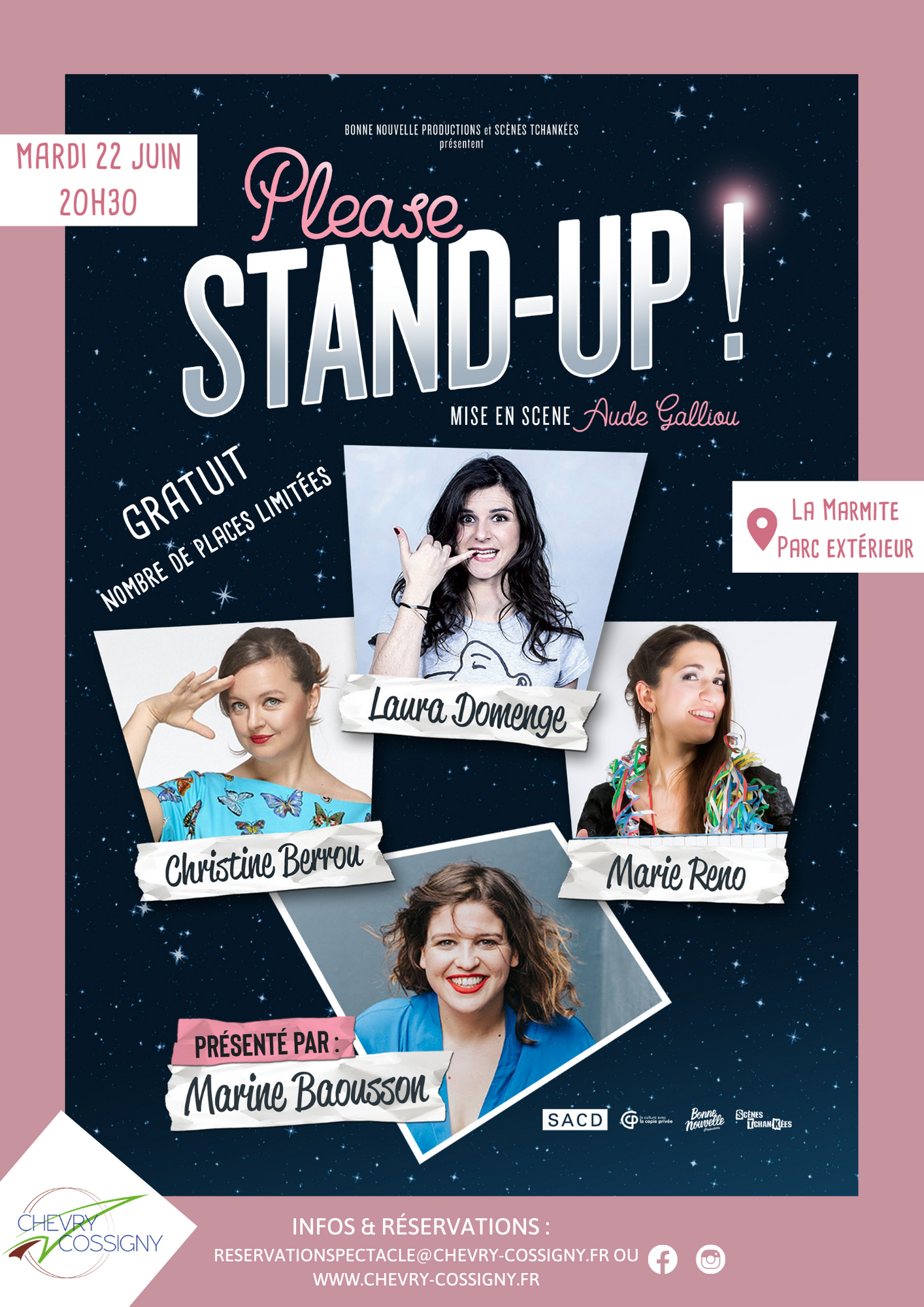 Please Stand-Up affiche (2) A3