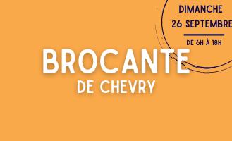 BROCANTE DE CHEVRY EDITION 2021